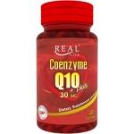 Real Elixir Coenzyme Q10 30 mg Plus Alpha Lipoic Acid and Vitamin 30 capsules ป้องกันและลดเลือนริ้วรอย พร้อมบำรุงหัวใจ