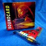 PCI Sound Card 64-bit SRS 3D Sound YAMAHA