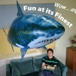 วิธีประกอบ Air Swimmer รุ่น ฉลาม (Flying Shark)