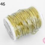 ลวดทองเหลือง 0.70มิล #22 (1ม้วน)