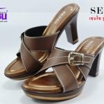 senso (เซนโซ) สีน้ำตาล รุ่นNJ48021-03 เบอร์36-40