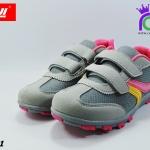 รองเท้าผ้าใบหญิง Baoji บาโอจิ รุ่น DS731 สีเทาชมพู เบอร์37-41