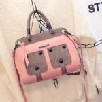 กระเป๋าสะพายข้างผู้หญิงพร้อมส่ง รหัส SUIF0195PK สีชมพู แบบน่ารักมากค่ะ