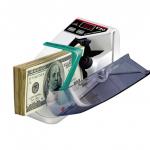 เครื่องนับเงินพกพา Mini Portable Handy Bill Cash Money Currency Counter เครื่องนับธนบัตร ขนาดพกพา ( White )
