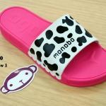 รองเท้าแตะ Monobo Jello โมโนโบ้ รุ่น Twist Low 3 สวม สีชมพู เบอร์ 5-8