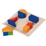 ของเล่นไม้ ของเล่นเด็ก ของเล่นเสริมพัฒนาการ Fraction Fun (ส่งฟรี)