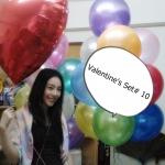 วาเลนไทน์ Valentine's Set # 10 *สามารถเลือกเปลี่ยน สีได้ตามความต้องการ*