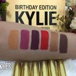 SET Kylie Brithday Edition ลิปแมท (งานmirror) ลิปสติกเนื้อแมท สีสวยเก๋มาก เข้ากับทุกโทนสีผิว ให้สีติดทนนาน เนื้อสีเยอะ กลบสีปากได้เนียนแน่นสนิท
