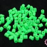 เม็ดบีทรีดร้อน สีเขียวอ่อน 5 มิล (1ขีด/1,820ชิ้น)