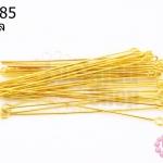 ตะปูเลข9หรืออายพิน สีทอง (A) #50มิล (5กรัม)