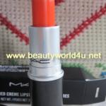 M.A.C Amplified Creme lipstick # morange ขนาดจริง ลดพิเศษ