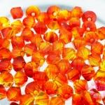 คริสตัลสวารอฟสกี้ (SWAROVSKI) สีอำพัน(237) 4มิล(100เม็ด)