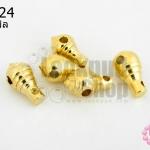 ลูกขุนห้อยพระ สีทอง 8X14มิล (10ชิ้น)