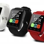 U Watch Bluetooth Smart Watch รุ่น U8 นาฬิกาข้อมืออัจฉริยะที่มีไมโครโฟนและลำโพงในตัว รองรับการสนทนาสายโทรศัพท์ ติดตาม เก็บสถิติระยะก้าวเดิน และคำนวณปริมาณการเผาผลาญแคลอรี่