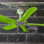 พัดลมแขวนเพดาน 5 ใบพัด 24 นิ้ว ติดตั้งเองได้
