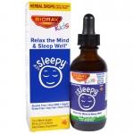 Bioray Kids NDF Sleepy - สมุนไพรออร์แกนิคช่วยให้ผ่อนคลายและนอนหลับ (60ml.)