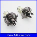 LFC029 หลอดไฟตัดหมอก สปอร์ตไลท์ 1คู่ H4 120 LED 3528 SMD Super White Fog Lamp Light DC 12V