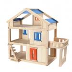 ของเล่นไม้ ของเล่นเด็ก ของเล่นเสริมพัฒนาการ Terrace Dollhouse บ้านเทอเรซ (ส่งฟรี)