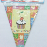 ธงประดับงาน Happy Birthday / Item No. TL-S014
