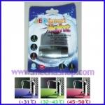 LFW003 ก๊อกน้ำ LED เปลี่ยนได้ 3 สี สีน้ำเงิน สีเขียว สีแดง ตามอุณหภูมิของน้ำ ไม่ใช้แบตเตอรี่ ยี่ห้อ OEM รุ่น