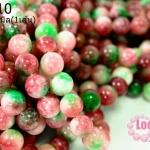 ฮกลกซิ่ว10 มิล โทนชมพู- เขียว (จีน) (1เส้น)