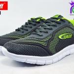 รองเท้าผ้าใบ BAOJI บาโอจิ รุ่น DK99371 สีเทาเขียว เบอร์ 41-45
