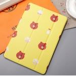 ** พร้อมส่งค่ะ ** เคส iPad mini 4 ลาย Brown สีเหลือง