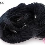 เชือกไนล่อน สีดำ #4 (1ใจ)