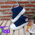รองเท้าผ้าใบแฟชั่นเกาหลี สีกรม รุ่นY1607 เบอร์36-39