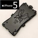 ** หมดค่ะ ** เคส iPhone 5 ANNA SUI Magic Mirror ฝาพับ สีดำ