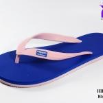 รองเท้าแตะ Hippo Bloo ฮิปโป บลู สีชมพูน้ำเงิน เบอร์ 9,9.5,10,10.5,11,12,13