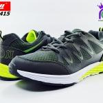 รองเท้าผ้าใบ วิ่ง บาโอจิ ชาย รุ่นDK99415 สีเทา-เขียว เบอร์41-45