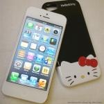 ** พร้อมส่งค่ะ ** เคส iPhone 5 Hello Kitty สีดำ