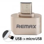 OTG Micro USB : Remax RA-OTG USB 2.0 Micro USB Compatible with all Android Phone หัวเชื่อมต่อ โอนถ่ายข้อมูลและชาร์จได้ในตัว รองรับ USB 2.0 โอนถ่ายข้อมูลไว ใช้ได้กับ Port USB ทุกรุ่น