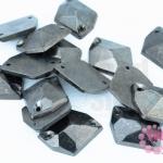 เพชรสอยสีรมดำ หกเหลี่ยม2รู 16X20มิล (1ขีด/170ชิ้น)