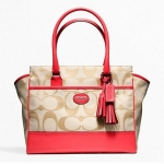 กระเป๋า COACH SIGNATURE MEDIUM CANDACE CARRYALL 24203