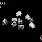บานพับ สีโรเดียม 8มิล(10ชิ้น)