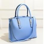 กระเป๋า Berrybag พร้อมส่ง รหัส SUB8841BL สีฟ้า ตั้งได้ มีสายสายสะพายยาว ดูดีค่ะ
