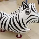 Zebra Walking Balloons - ม้าลายบอลลูน / Item No. TL-K009