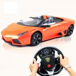 Lamborghini รถบังคับด้วยพวงมาลัย - สีส้ม