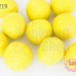 ลูกบอล Feit 25มิล #1 สีเหลือง (5ลูก)