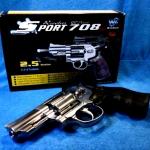 ปืนอัดแก็ส Co2 Revolver Win Gun 2.5 นิ้ว
