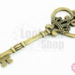 จี้ทองเหลือง กุญแจ 32X84มิล (1ชิ้น)
