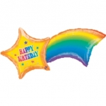 ลูกโป่งฟลอย์นำเข้า Shooting Star Birthday / Item No. AG-07029 แบรนด์ Anagram ของแท้