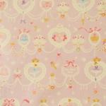 ผ้าคอตตอนลินินญี่ปุ่น ลาย บัลเลต์ สีม่วงหวานเนื้อดีลายน่ารักมากค่ะ