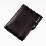 กระเป๋าสตางค์ผู้ชายพร้อมส่ง รหัส 5146 สีดำ หนังแท้ น่าใช้ค่ะ