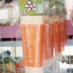 ริบบิ้น สีส้ม สำหรับผูกลูกโป่ง ยาว 10 เมตร - Ribbon Orange Color For Balloons