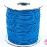 เชือกค๊อตต้อนเคลือบ สีน้ำเงิน 1.5มิล(1ม้วน)(100หลา)