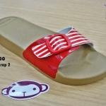 รองเท้าแตะ Monobo Jello โมโนโบ้ รุ่น Jello Wrap 2 สวม สีแดง เบอร์ 5-8