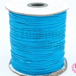 เชือกค๊อตต้อนเคลือบ สีฟ้า 1.5มิล(1ม้วน)(100หลา)